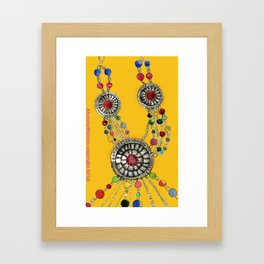 My favourite necklace Framed Art Print