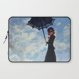 nanny with a parasol Laptop Sleeve