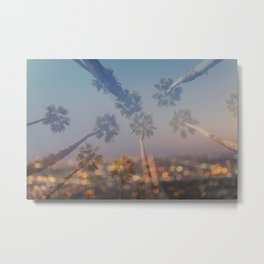 Postcard from L.A. Metal Print
