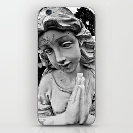 Cracked angel iPhone Skin