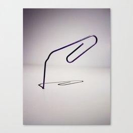 Paper Clip  Canvas Print