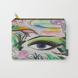 I'm Here. Original Painting by Jodilynpaintings. Abstract Artwork. Carry-All Pouch