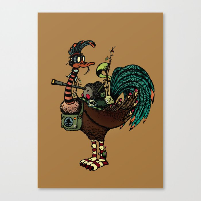 Nature warriors: Scouts Canvas Print