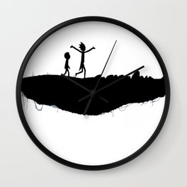 RICK AND MORTY - WHOLE DIFFERENT DIMENSION, M-MORTY Wall Clock