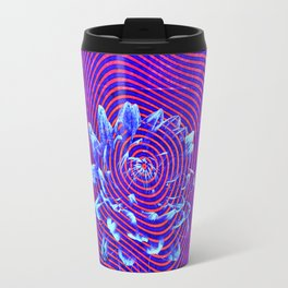 Moire Bloom By Brandon Babic and Saturn Kat Travel Mug