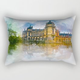 Château de Chantilly Rectangular Pillow