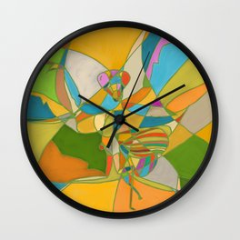 Mantis V2 Wall Clock