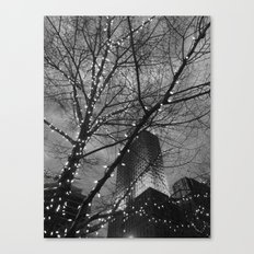 Christmas in the City Canvas Print