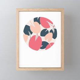 Waterlines Framed Mini Art Print
