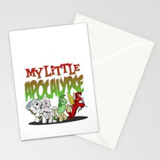My Little Apocalypse Stationery Cards