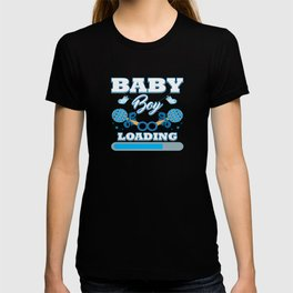 Baby Is Loading Boy Pregnancy Announcement Gift T-shirt