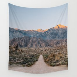 Road to the Mountains Wall Tapestry
