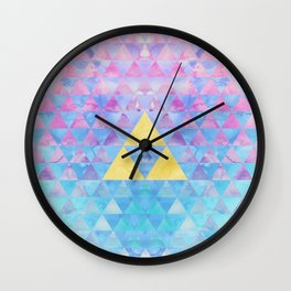 Zelda Geometry Wall Clock