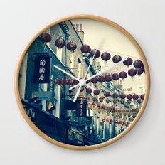 London Chinatown Wall Clock