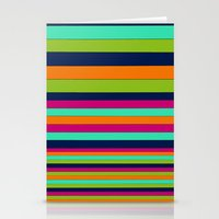 stripe Stationery Cards featuring Stripe by Aimee St Hill