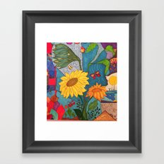 Mariposas Framed Art Print