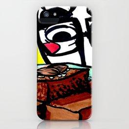 Almond Brownies iPhone Case