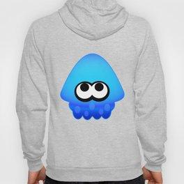 Splatoon Squid Pattern Blue Hoody