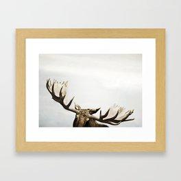 fig. 02 | antlers Framed Art Print