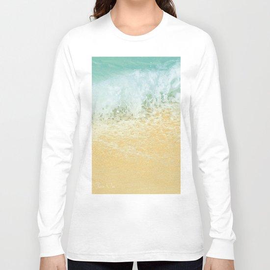 Kite Beach Ocean Splash Long Sleeve T-shirt