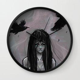 Raven Haven Wall Clock