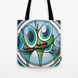 Raindrop Wars Tote Bag