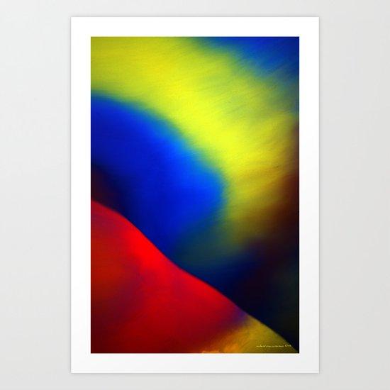 Aurore Boréale Art Print