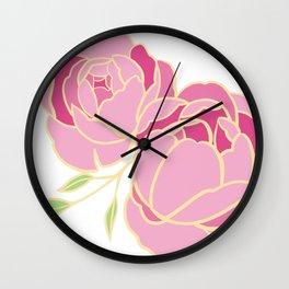 Big Sister Little Sister Wall Clock