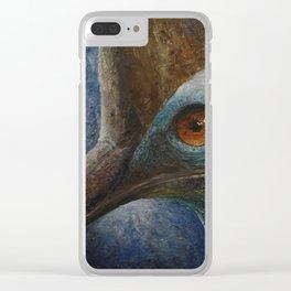 Southern Cassowary (Casuarius casuarius) Clear iPhone Case