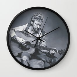 Keith Whitley Wall Clock