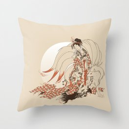Ninetales Daji Throw Pillow