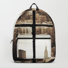 i love NY vintage Backpack
