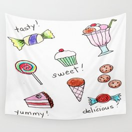 Savory Sweets Wall Tapestry