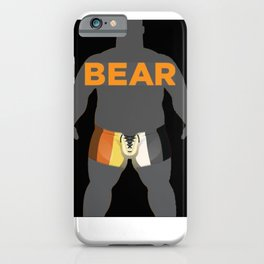 Bear pride LGBT PRIDE SEASON  iPhone Case