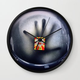 Space love Wall Clock