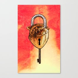 Heartlock Canvas Print