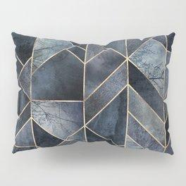 Abstract Nature - Dark Blue Pillow Sham