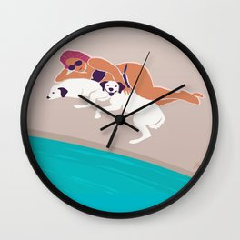 Calm, Leisure, Vacation Wall Clock