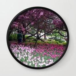 Ottawa Tulip Festival Wall Clock