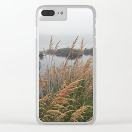 Acadia Pond Clear iPhone Case