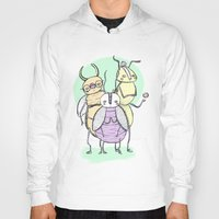 bugs Hoodies featuring Bugs by Sonia Lazo
