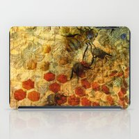 bees iPad Cases featuring Bees by See No Evil