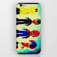 mario bros iPhone & iPod Skins featuring Super Mario Bros. by Silvio Ledbetter