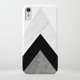 Arrows Monochrome Collage iPhone Case