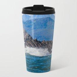 Pacific ocean bay Metal Travel Mug