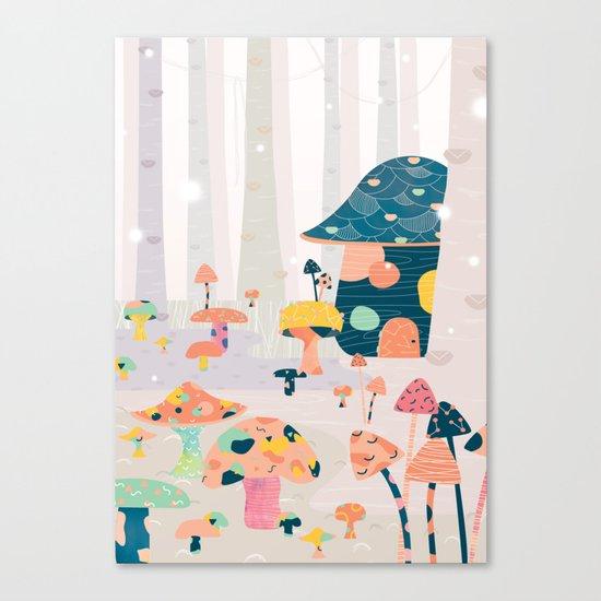 Mushroom Euphoria Canvas Print