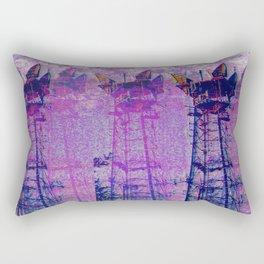 Stuck On Static Rectangular Pillow