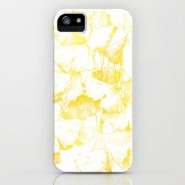 Ginkgo biloba (Autumn gold) iPhone Case