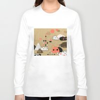 geology Long Sleeve T-shirts featuring Tobermory by Hyein Lee