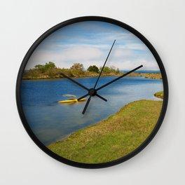 Assateague Island Marsh Wall Clock